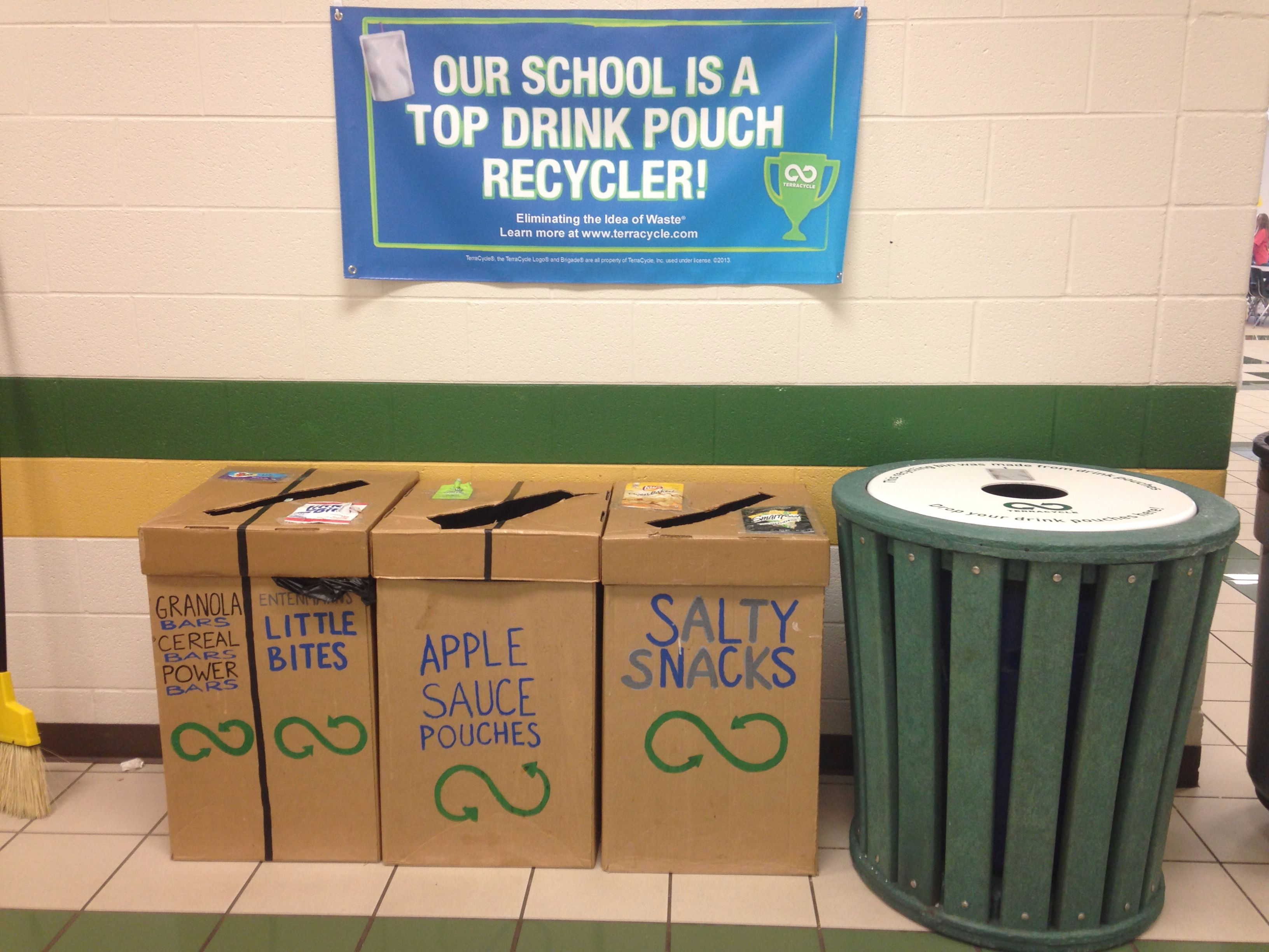 TerraCycle in Lunchroom