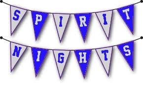 Spirit Night Banner